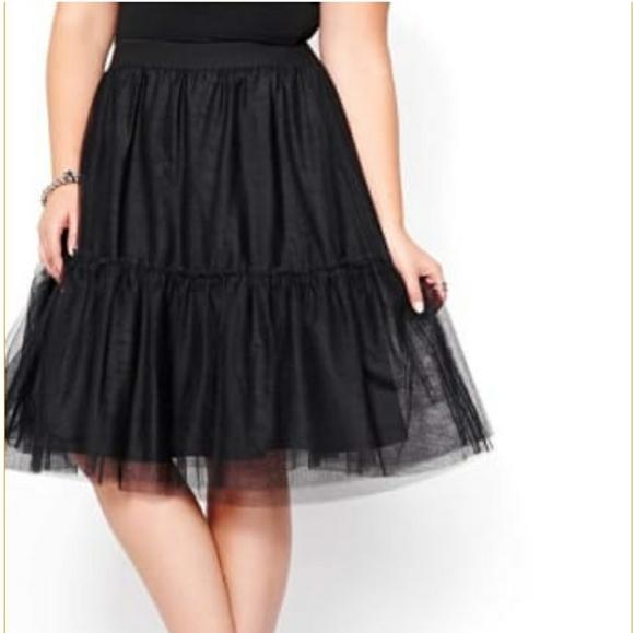 Michel Studio Dresses & Skirts - Black tulle skirt